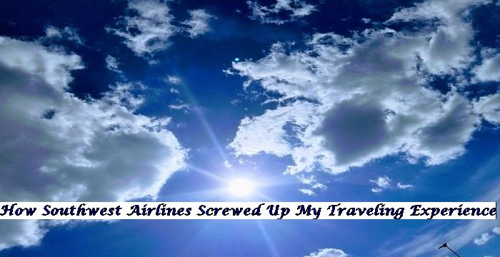 My delightful experience flying southwest airlines